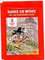 Stickers Zelfklevers Zakje Met 5 Stuks - Strips - Album Suske & Wiske - Het Betoverende Boek - - Vignettes Autocollantes