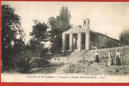 CAUSSOLS -Alpes Maritimes - Chapelle De St-Lambert - Animée -voyagée  Recto Verso- Paypal Sans Frais - Sonstige Gemeinden