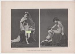 MZ / ETUDE ARTISTIQUE / , Nu Naturisme Art Erotisme Erotica Nude Woman Sexy Femme Fillette , Nue Seins Nus Recto Verso - Unclassified
