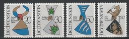 LIECHTENSTEIN  Xx  1966    MI 465-68   -  Postfrisch   -  Vedi  Foto ! - Liechtenstein