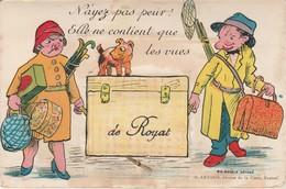 Puy De Dome : ROYAT : à Système Dépliant ( 10 Vues ) - N'ayez Pas Peur ! Elle Ne Contient Que Les Vues De Royat - Royat