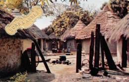 Bonne Année Africaine Postée A  Port Gentil Libreville GABON   37 (scan Recto Verso)KEVREN08VIC - Gabon