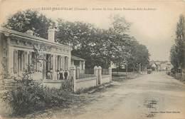 CPA 33 Gironde St Saint Jean D'Illac Avenue Du Las Route Bordeaux Arès Andernos - Francia