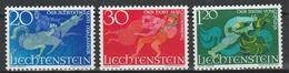 LIECHTENSTEIN  Xx  1967     MI 475-77   -  Postfrisch   -  Vedi  Foto ! - Liechtenstein