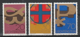 LIECHTENSTEIN  Xx  1967     MI 482-84   -  Postfrisch   -  Vedi  Foto ! - Liechtenstein