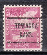 USA Precancel Vorausentwertung Preo, Locals Kansas, Towanda 721 - Vereinigte Staaten