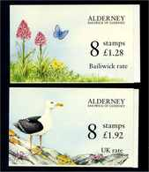 ALDERNEY 1994 MH O-1 + O-2 Postfrisch (104569) - Guernsey