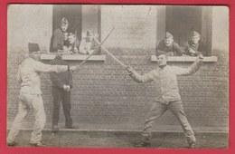 Brasschaat / Brasschaet - Kamp -Combat Au Sabre .... Fotokaart - 190? ( Verso Zien ) - Brasschaat