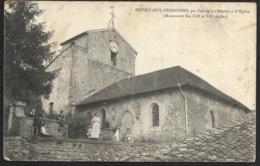 Brixey Aux Chanoines,par Sauvigny (Meuse)-L'Eglise - France