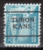 USA Precancel Vorausentwertung Preo, Locals Kansas, Turon 701 - Vereinigte Staaten