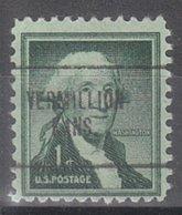 USA Precancel Vorausentwertung Preo, Locals Kansas, Vermillion 704 - Vereinigte Staaten