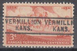 USA Precancel Vorausentwertung Preo, Locals Kansas, Vermillion 729 - Vereinigte Staaten