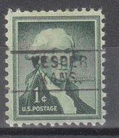 USA Precancel Vorausentwertung Preo, Locals Kansas, Vesper 745 - Vereinigte Staaten