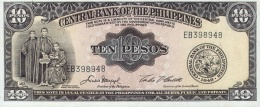 PHILIPPINES 10 PESOS 1949 P-136e UNC [PH0920e] - Philippinen