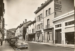 Nantua-hotel Du Commerce-peugeot 203-marmillon Proprietaire- Cpsm - Nantua