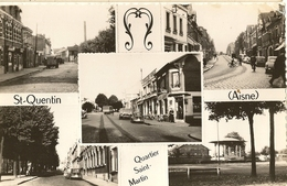 Saint Quentin- Quartier Saint Martin -- Cpsm - Saint Quentin