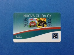 2005 2006 NUOVA GUIDA OK SCHEDA CARTA TESSERA CARD PER AUTO VEICOLO ASSICURAZIONE GRUPPO FONDIARIA SAI - Other Collections