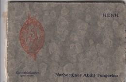 TONGERLOO / BOEKJE MET POSTKAARTEN / NORBERTIJNER ABDIJ / 13 KAARTEN - Westerlo