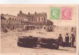 CPA - 31. HOULGATE Hôtel Du Casino Et La Plage - Houlgate