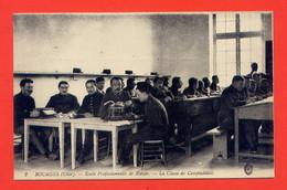 L221-Bourges (Cher) Ecole Professionnelle De Blessés - La Classe De Comptabilité - War 1914-18