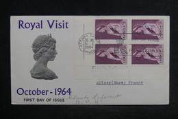 CANADA - Enveloppe FDC ( Visite Royale ) En 1964 De Ottawa Pour La France - L 38444 - 1961-1970