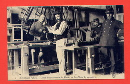 L223-Bourges (Cher) Ecole Professionnelle De Blessés - La Classe De Menuiserie - War 1914-18