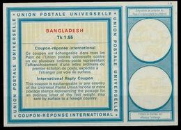 BANGLADESH Vi21Tk 1.55 First International Reply Coupon Reponse IRC IAS Antwortschein Mint ** - Bangladesch