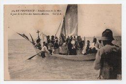 - CPA LES SAINTES-MARIES-DE-LA-MER (13) - Bénédiction De La Mer 1925 (belle Animation) - Collection L.A. 364 - - Saintes Maries De La Mer