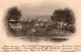 83 VUE GENERALE LA SEYNE CARTE PRECURSEUR PRECURSEUR TIMBREE 1901 - La Seyne-sur-Mer