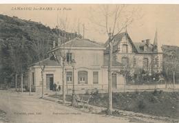 CPA - France - (34) Hérault - Lamalou Les Bains - La Poste - Lamalou Les Bains