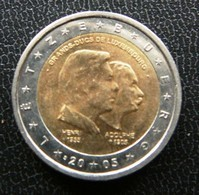 Luxemburg  -  Luxembourg   2 EURO 2005    Speciale Uitgave - Commemorative - Luxemburg