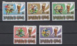 1974. Rép. Du Burundi. COB N° 639/43 **, MNH. Cote 2018 : 5 € - Burundi