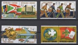 1974. Rép. Du Burundi. COB N° 644/51 **, MNH. Cote 2018 : 6 € - 1970-79: Neufs