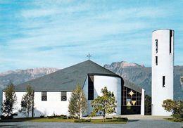 1 AK Liechtenstein * Die Pfarrkirche Zum Unbefleckten Herzen Mariä Im Ortsteil Mittelschellenberg * - Liechtenstein
