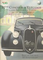 Sassuolo, Salvarola Terme, 2010, 11ème Concours D'Elegance Auto D'epoca. 20 Pp., Cm. 21 X 30. - Motori
