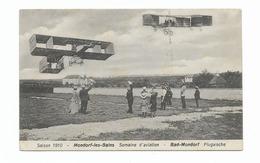 SAISON 1910 MONDORF LES BAINS  SEMAINE D AVIATION - ....-1914: Precursori