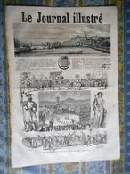 LE JOURNAL ILLUSTRE 13/08/1865 LA CHARITE VEVEY FETE VIGNERON IVOIRE PASTELOT FIENAROLLES COCHINCHINE TRANG BANG DAUMIER - Journaux - Quotidiens