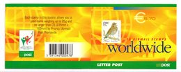Ireland Ierland Eire 2002 R MNH Booklet € 5.70 Birds Oiseaux Vogels Vögel Pájaros Ptitsy Passarinhos Ptáci Thrush Turdus - Pájaros Cantores (Passeri)