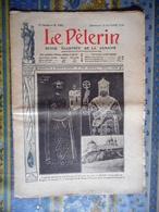 LE PELERIN 25/10/1908 BULGARIE TIRNOVO TSAR KALOYAN FERDINAND 1ER BLANVILLE MEURTHE ET MOSELLE A LEMOT - Testi Generali