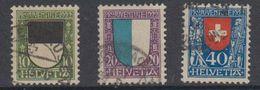 Switzerland 1922 Pro Juventute 3v Used (44119I) - Pro Juventute