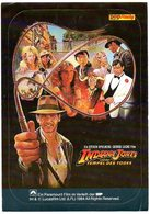Autocollant Sticker  Paramount Film D Indiana Jones Spielberg Tempel Des Todes    Cinema Reclame - Autocollants