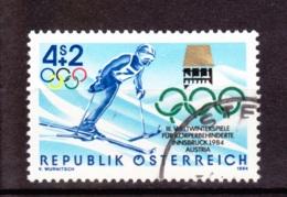 1984  III.Weltwinterspiele Für Körperbehinderte, Österreich,  Gebraucht - 1945-.... 2. Republik
