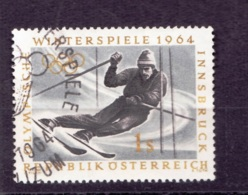 1964  Olympische Winterspiele Innsbruck, Österreich, Schiläufer, Gebraucht - Winter 1964: Innsbruck