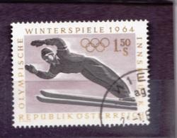 1964  Olympische Winterspiele Innsbruck, Österreich, Schispringer, Gebraucht - Winter 1964: Innsbruck