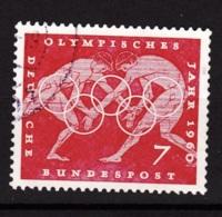 1960  Olympische Sommerspiele Rom, Deutsche Bundespost, Gebraucht - Sommer 1960: Rom