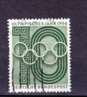1956  Olympisches Jahr, Deutsche Bundespost,  Gebraucht - Gebraucht