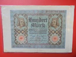 Reichsbanknote 100 MARK 1920 CIRCULER (B.1) - [ 3] 1918-1933 : Repubblica  Di Weimar