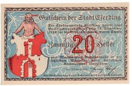 Austria Notgeld - EFERDING 20 HELLER 1919 - Austria