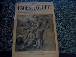 """Revue MILITARIAT """"PAGES DE GLOIRE"""" 28 NOV.1915 __15 PAGES - Armas Blancas"""