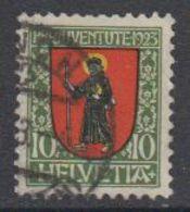 Switzerland 1923 Pro Juventute 10C Used (44119I) - Pro Juventute